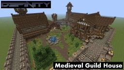 Medieval Guild House Minecraft Project