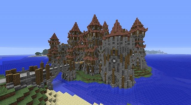 Minecraft Medieval City Download [1.7.10] Kargeth Medie...