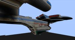 USS Enterprise B Minecraft Map & Project