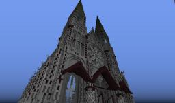 Massive Cathedral Minecraft Map & Project