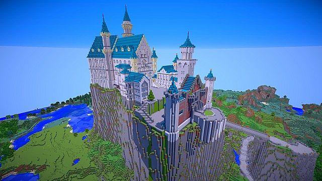 Neuschwanstein Castle Minecraft Project
