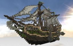 SteamPunk ~RiverInn AirShip~ Minecraft Map & Project