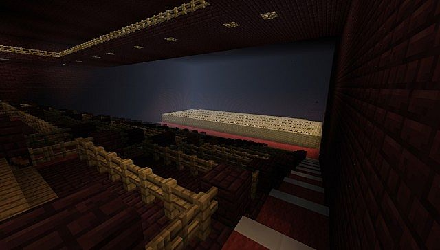 A Theater In Minecraft Minecraft Project