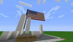 Never forget 9/11 Minecraft