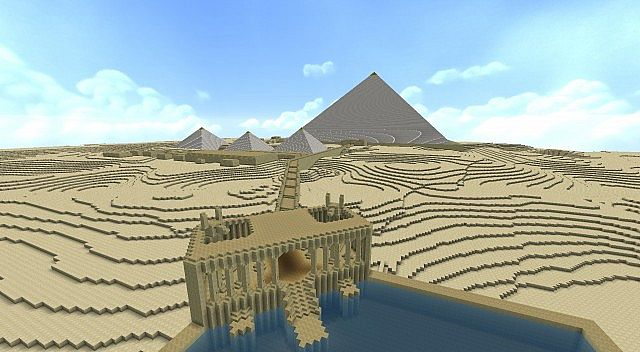Khufus pyramid and funerary complex