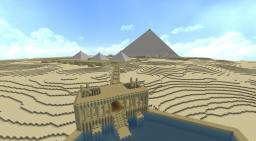 Giza Necropolis Minecraft Project