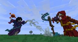 Mage battle (attempt at organics) Minecraft Map & Project