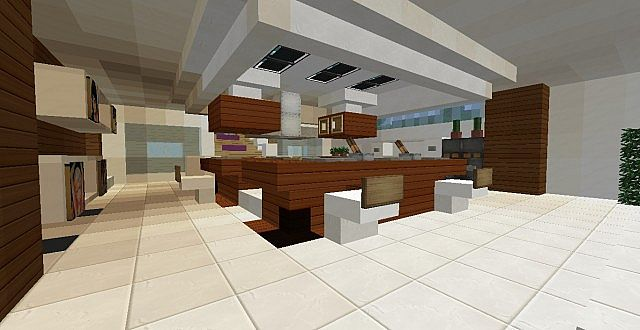 ultra modern house 2 minecraft project. Black Bedroom Furniture Sets. Home Design Ideas