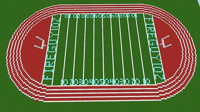 Track And Field Minecraft Project