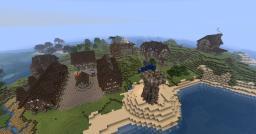 StrongPine Adventure (CustomNpcs Mod) Minecraft Map & Project