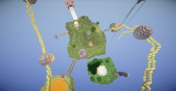 HG MAP ||SKYLANDS OF NOTCH||SOOTMOVIE Minecraft
