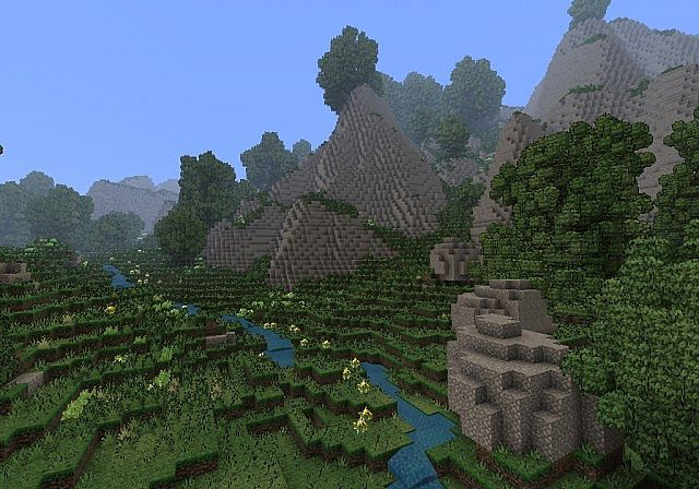 peaceful nature minecraft project
