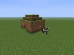 Deluxe Dirt House Minecraft Project