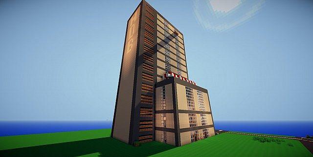 The Hundred Dollar Bill Hotel Minecraft Map