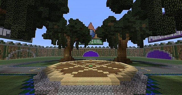 Minecraft Large Server Hub Lobby Download Spawn