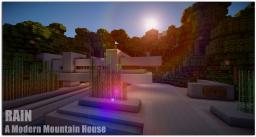 Rain - A Modern Mountain House [Showcased by Keralis] Minecraft Map & Project
