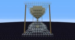 Functional Hourglass Minecraft Map & Project