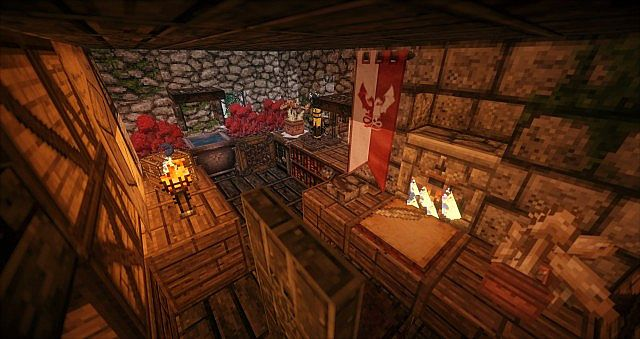 The alchemy lab on the 2nd floor