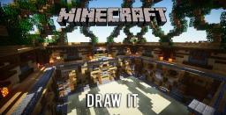 DRAW IT (Fully resettable & automated vanilla minigame) Minecraft Map & Project