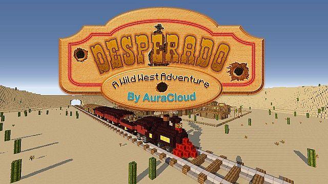 Desperado Western Themed Adventure Map Minecraft Project - Minecraft desperado hauser