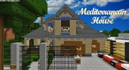 |Mediterranean House| [Traditional] [DBS] Minecraft Map & Project