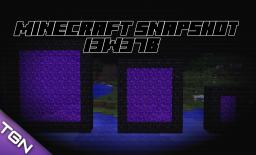 Minecraft Snapshot 13w37b - New Fish + Big Portals
