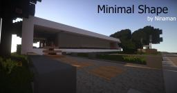 'Minimal Shape' - Minimalistic Concept Home - Ninaman Minecraft Map & Project