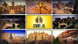 HUGE MAP [7 THEME CITIES] [+5000 BUILDINGS] [9000x9000 MAP SIZE] [DOWNLOAD] BdH - Map 8 Minecraft