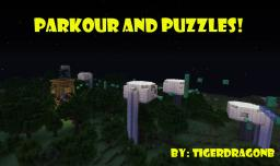 Parkour and Puzzles!!!! Minecraft Map & Project