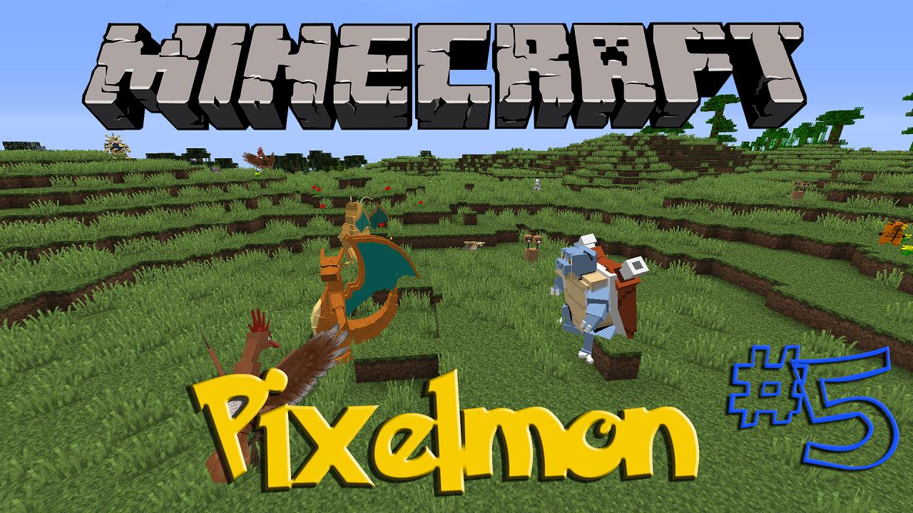 minecraft how to get pixelmon