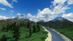 River of Thyia - Custom Terrain Minecraft Map & Project