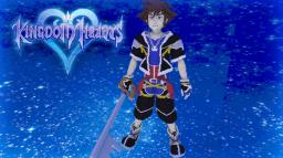 Sora Kingdom Hearts Minecraft