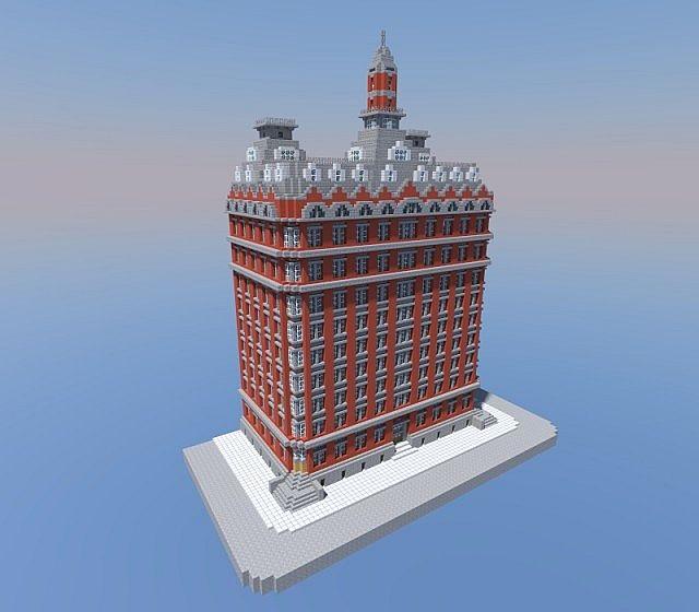 Washington Building, New York Minecraft Project
