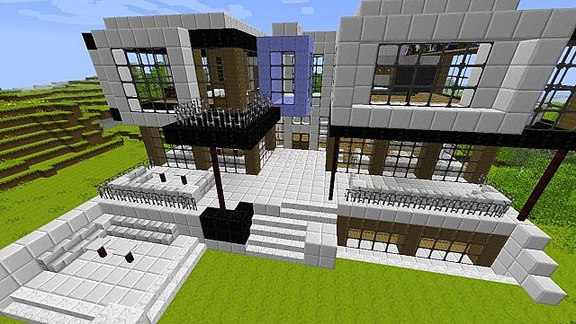 how to make a rich house in minecraft