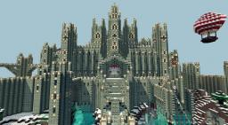 Old castle project Minecraft