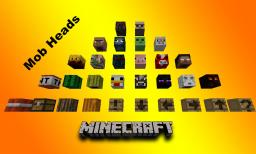 New Mob Heads / Player heads Available for adventure maps. Minecraft 1.6 / 1.7 Minecraft Blog Post