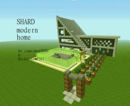 ::SHARD:: modern home Minecraft Map & Project