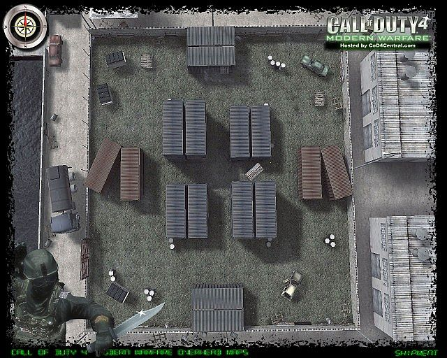 Call of Duty 4 Shipment Map. Minecraft Project Call Of Duty Maps on