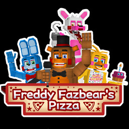 FNaF vanilla 3D |Freddy Fazbear's Pizzeria| RP Minecraft Map & Project