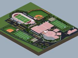 Harrison High School Build Minecraft Map & Project