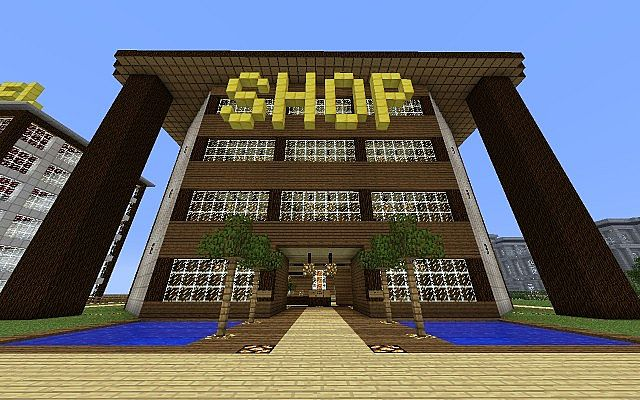 Shop Haus Minecraft Project