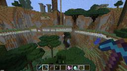 Ruins of the Narnia Base Minecraft Map & Project