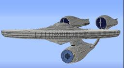The USS Enterprise Minecraft Map & Project