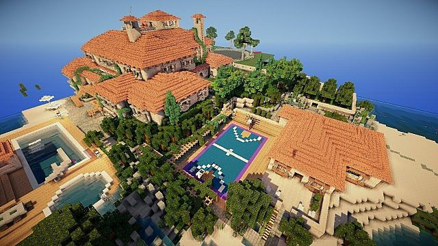 Huge mansion on world of keralis minecraft project huge mansion on world of keralis gumiabroncs Gallery