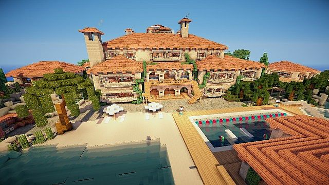 Huge Mansion On World Of Keralis
