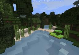 Tiny tree/river house Minecraft Map & Project