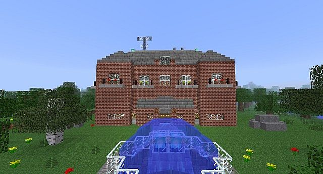 Zombie Minecraft House Design Html on