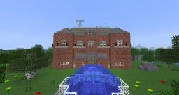 """Zombie-Proof House Inspired by the movie """"I Am Legend"""" *NEW AND IMPROVED* Minecraft Map & Project"""