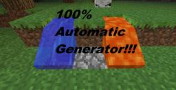 100% Automatic Cobblestone Farm Minecraft Map & Project