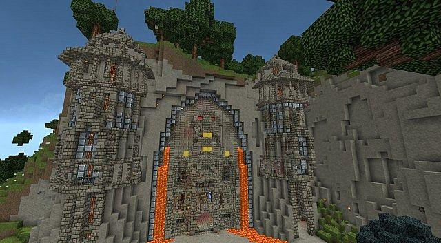 Underground Dwarven Base Minecraft Project